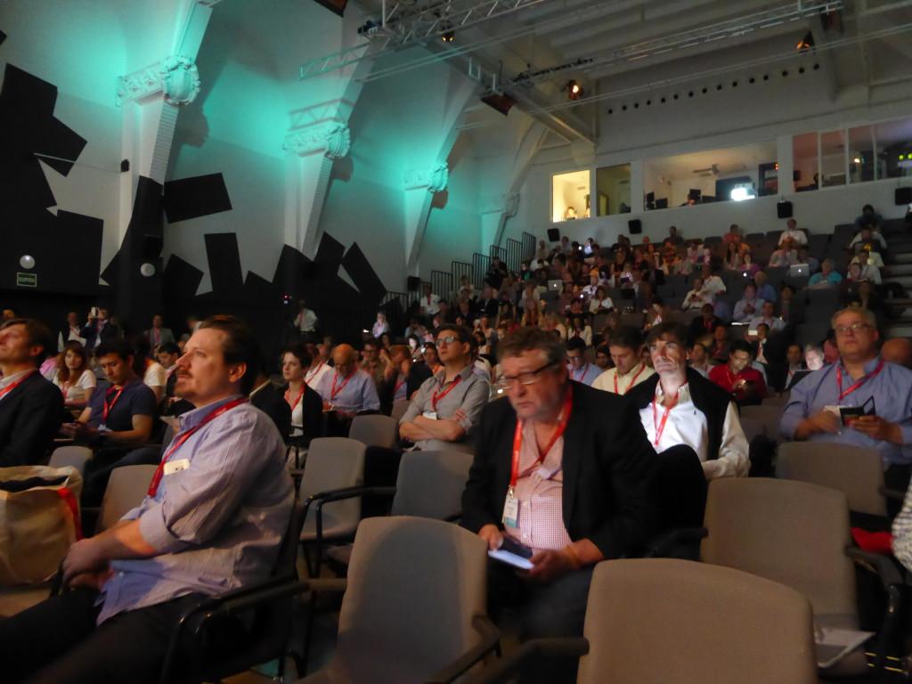 Imatge dels assistents al congrés que va tenir lloc al CCCB.
