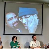 Ali Lmrabet, acte al Col·legi de Periodistes