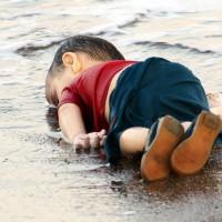 Foto del nen sirià Aylan