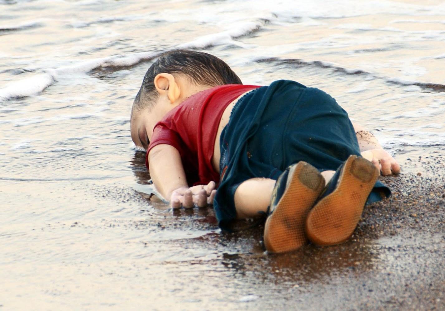 Foto del nen sirià