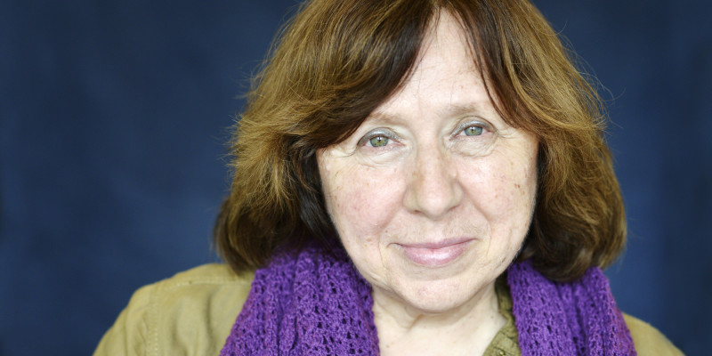 Svetlana Alexievich, posant a França | Foto: Getty