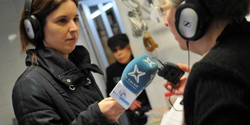 Les ràdios locals, com Ràdio Arenys, ofereixen cada vegada més contingut 'a la carta' | Foto: José Luis Gómez Galarzo