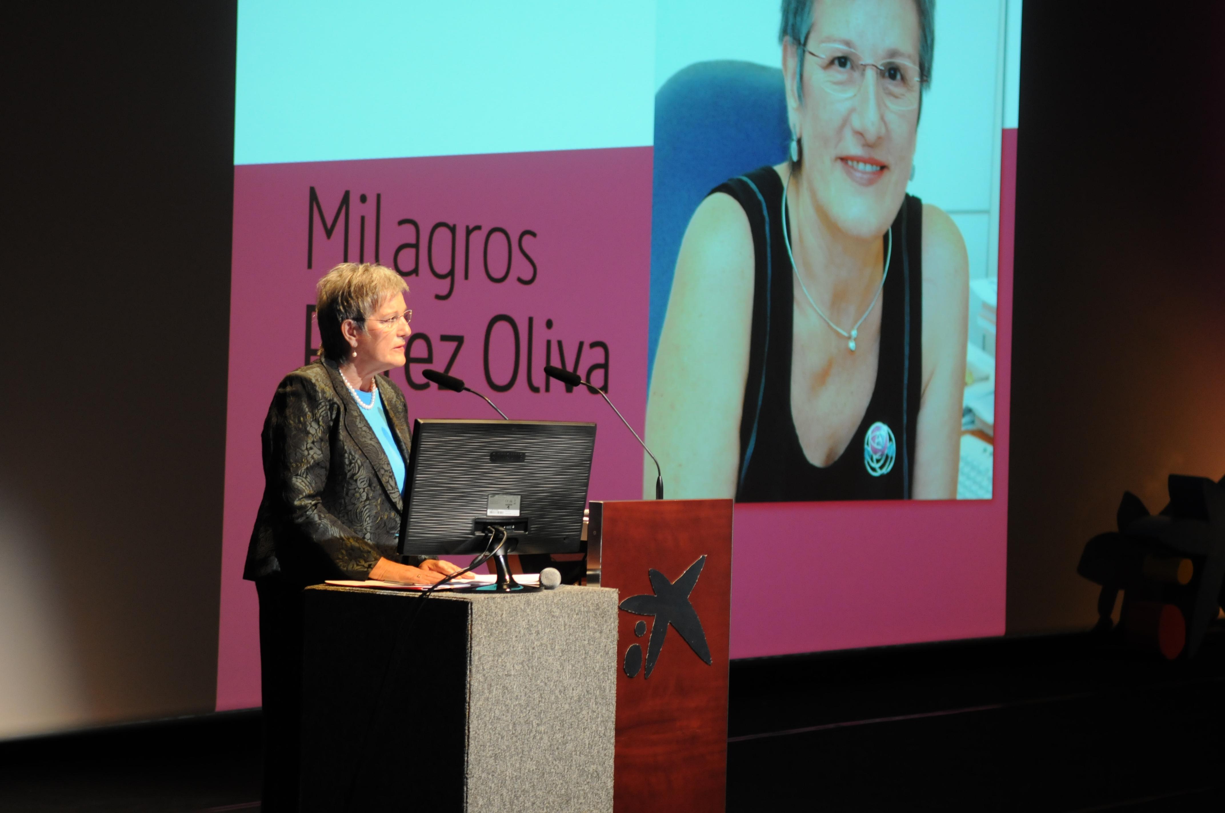 Milagros Perez Oliva Premi - Report.cat