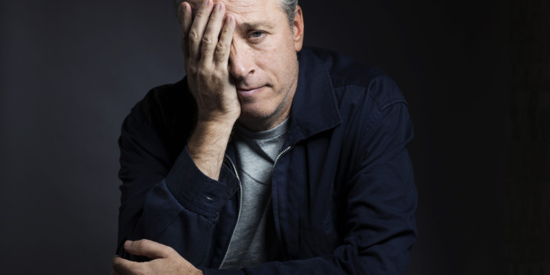 Jon Stewart Portrait Session