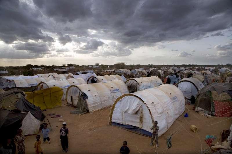 Un camp de refugiats a Dadaab, al nord-est de Kènia. Foto: ACNUR / E. Hockstein