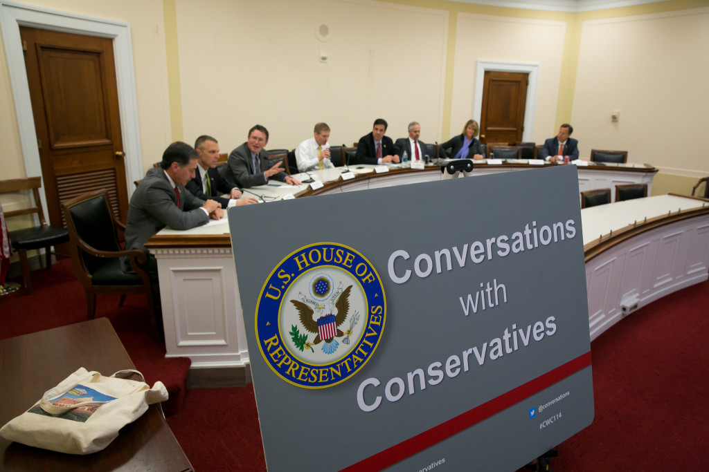 Debat al Heritage Foundation amb ponents conservadors. Foto: Heritage Foundation