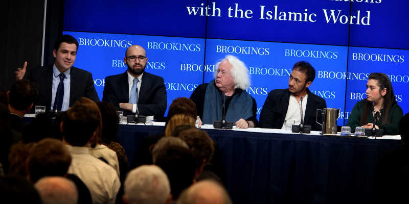 Acte a la Brooking Institution sobre islamisme. Foto: Brooking Institution
