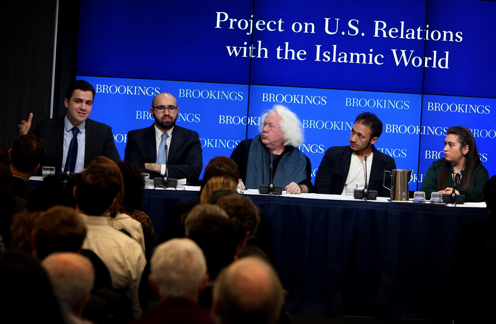 Acte a la Brooking Institution sobre islamisme. Foto: Brooking Institution