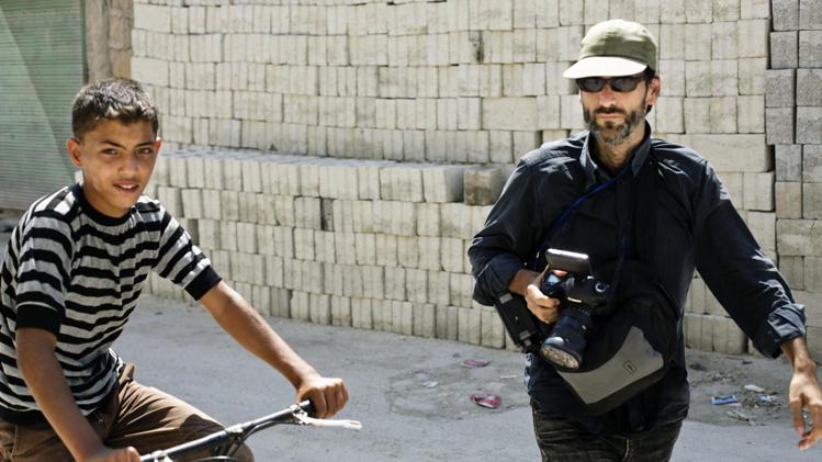 El periodista i videògraf Ricard Garcia-Vilanova. Foto: Arxiu R. G. Vilanova
