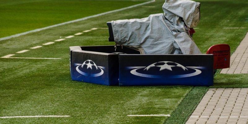camera futbol estadi televisió