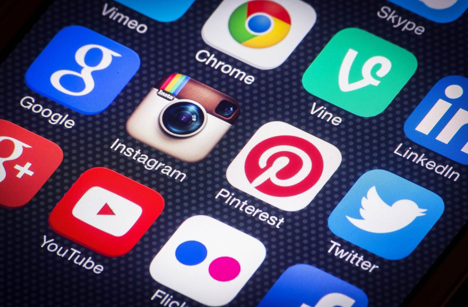 xarxes socials mobil