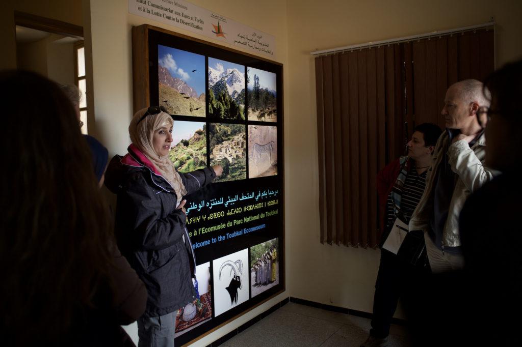 La trobada va acabar amb una visita al parc natural Toubkal.