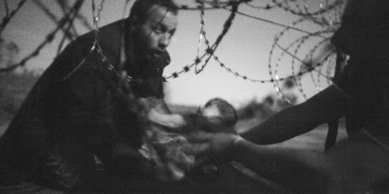 Hope for a New Life, guanyador del World Press Photo of the Year. Autor: Warren Richardson