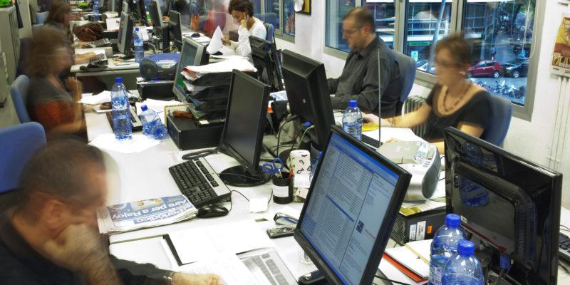 Els periodistes pateixen trastorns que sovint no es detecten. Foto: Arxiu Capçalera