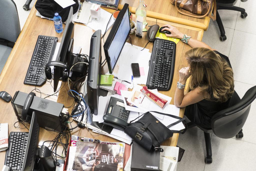 Un 85% pateix traumes relacionats amb la feina. Foto: Sergio Ruiz / Arxiu Capçalera