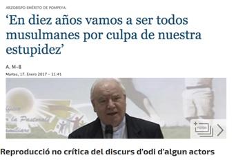 L'exministre Moratinos va fer unes declaracions polèmiques sobre els musulmans