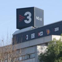 Imatge exterior dels estudis de Televisió de Catalunya (TVC)