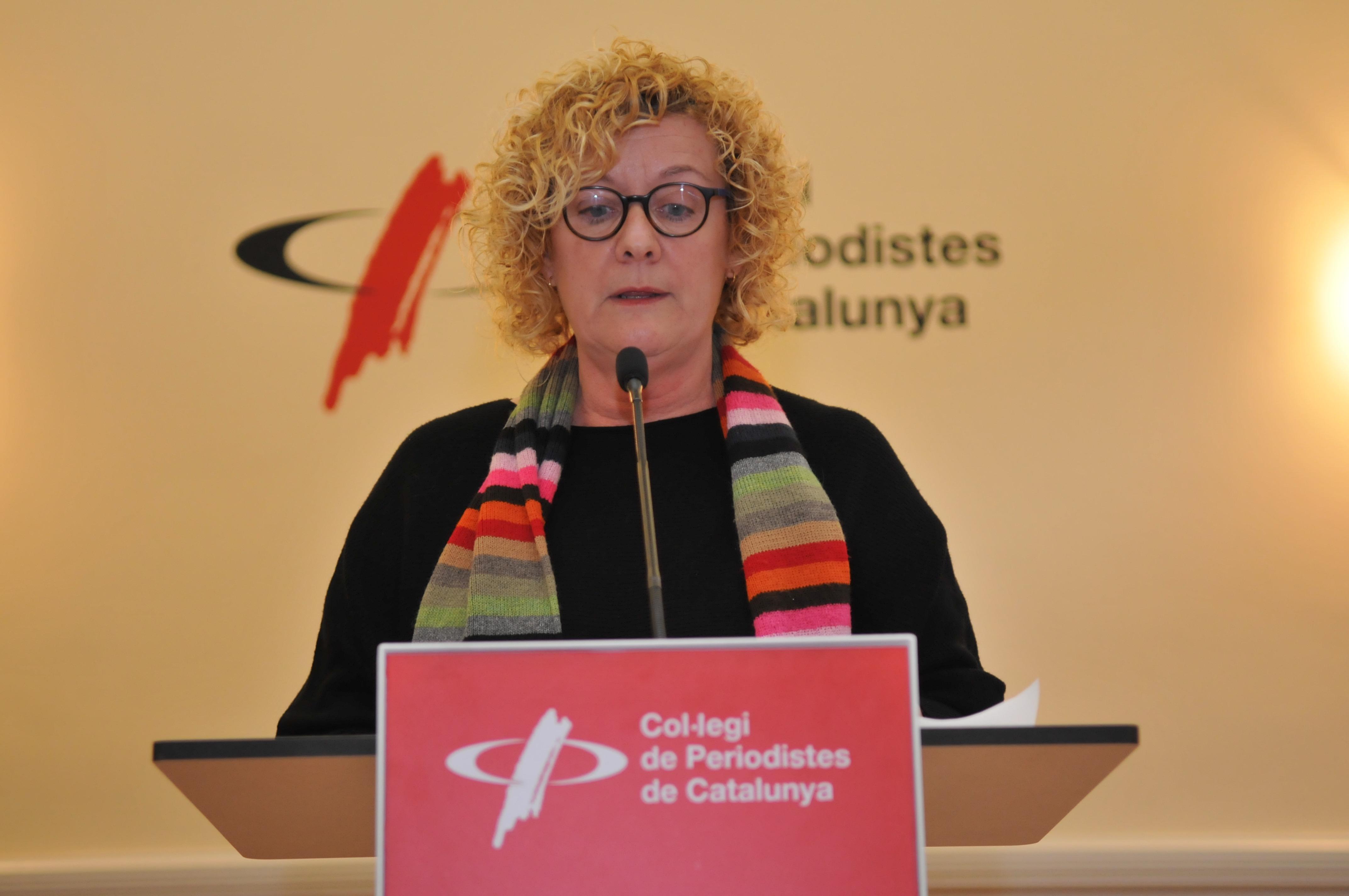 Neus Bonet manifest agressió periodistes