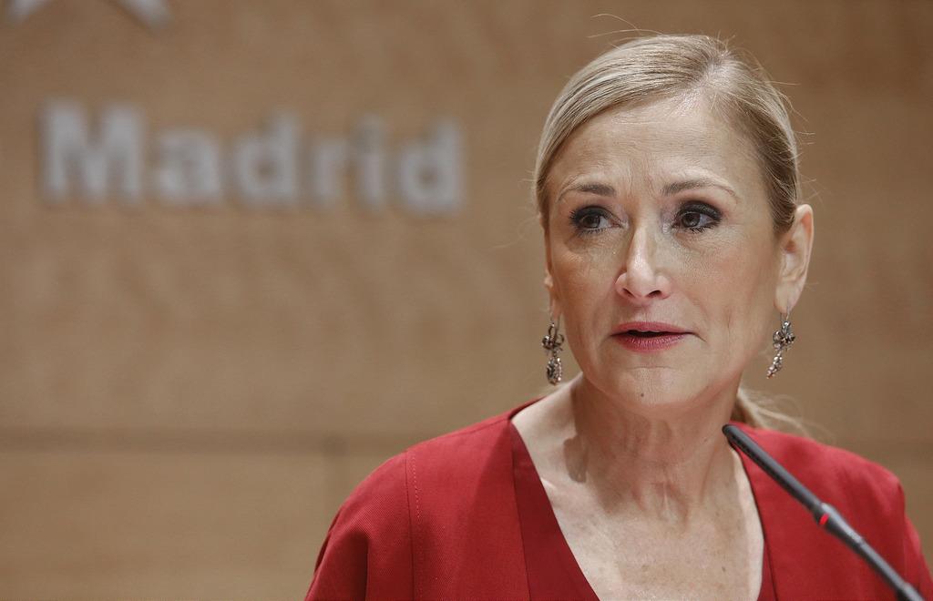 Cristina Cifuentes comunidad madrid