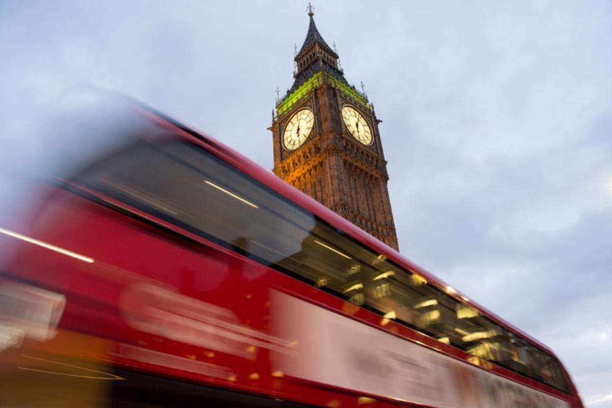 Brexit londres big beng autobus