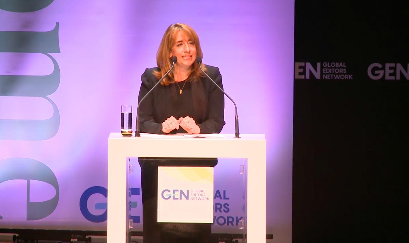 Katharine Viner The Guardian GEN Summit