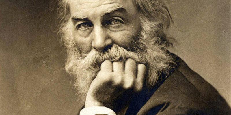 Walt Whitman en una imatge d'època