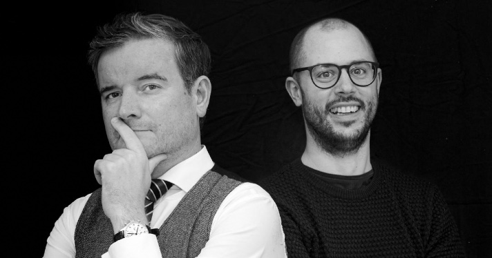 clubhouse audio Philipp Klöckner i Philipp Gloeckler han impulsat l'ús de Clubhouse a Alemanya. Foto: Karl Kratz